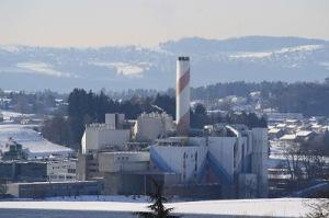 Planta de Incineración de Basura en Hinwill, Zurich